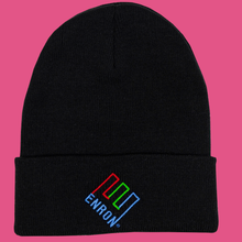 Load image into Gallery viewer, Enron Beanie (Black)