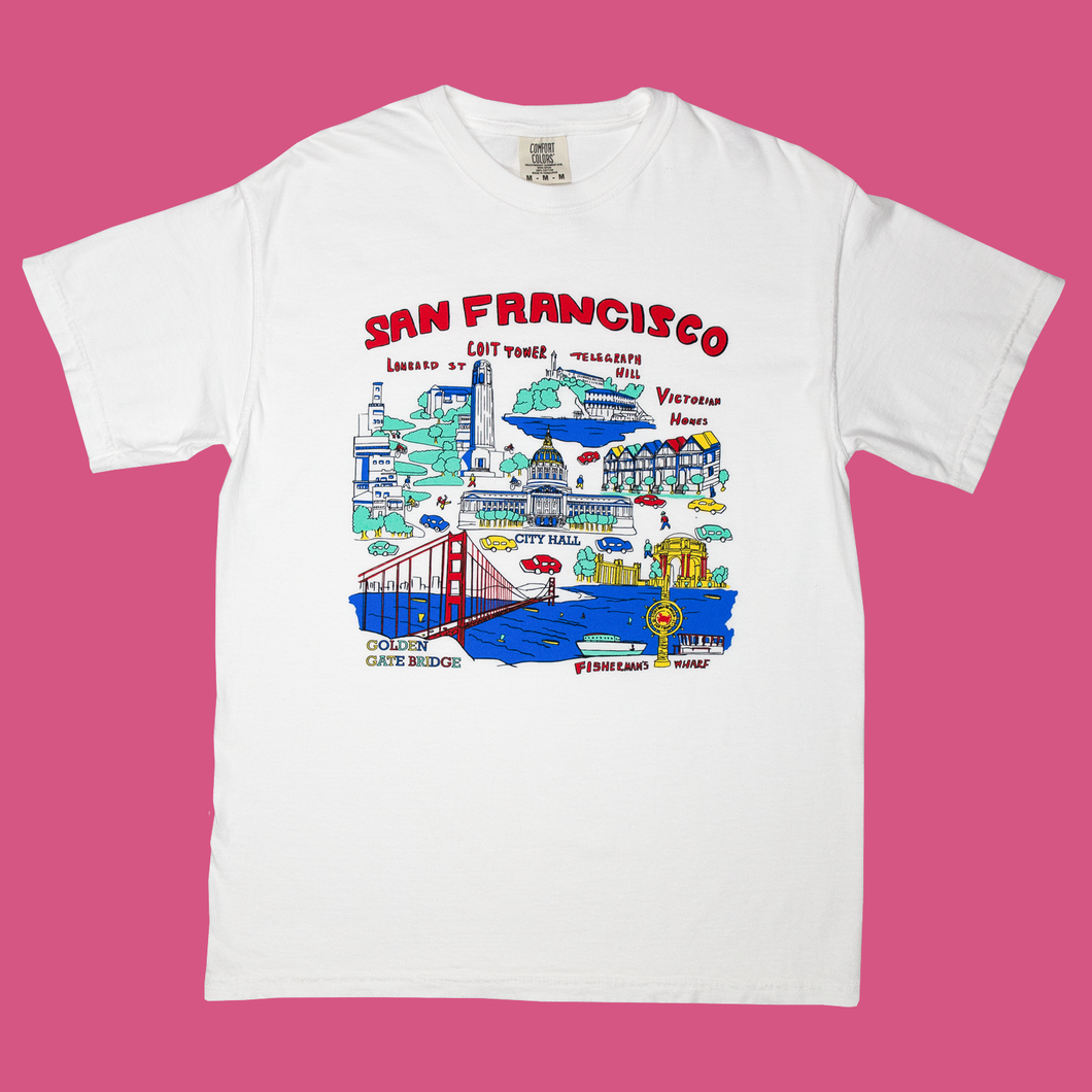 San Francisco Map Shirt