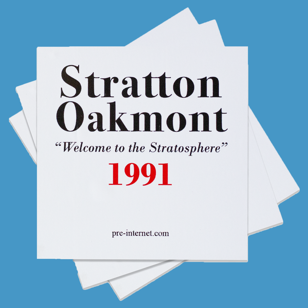 Stratton Oakmont Sticker Pack