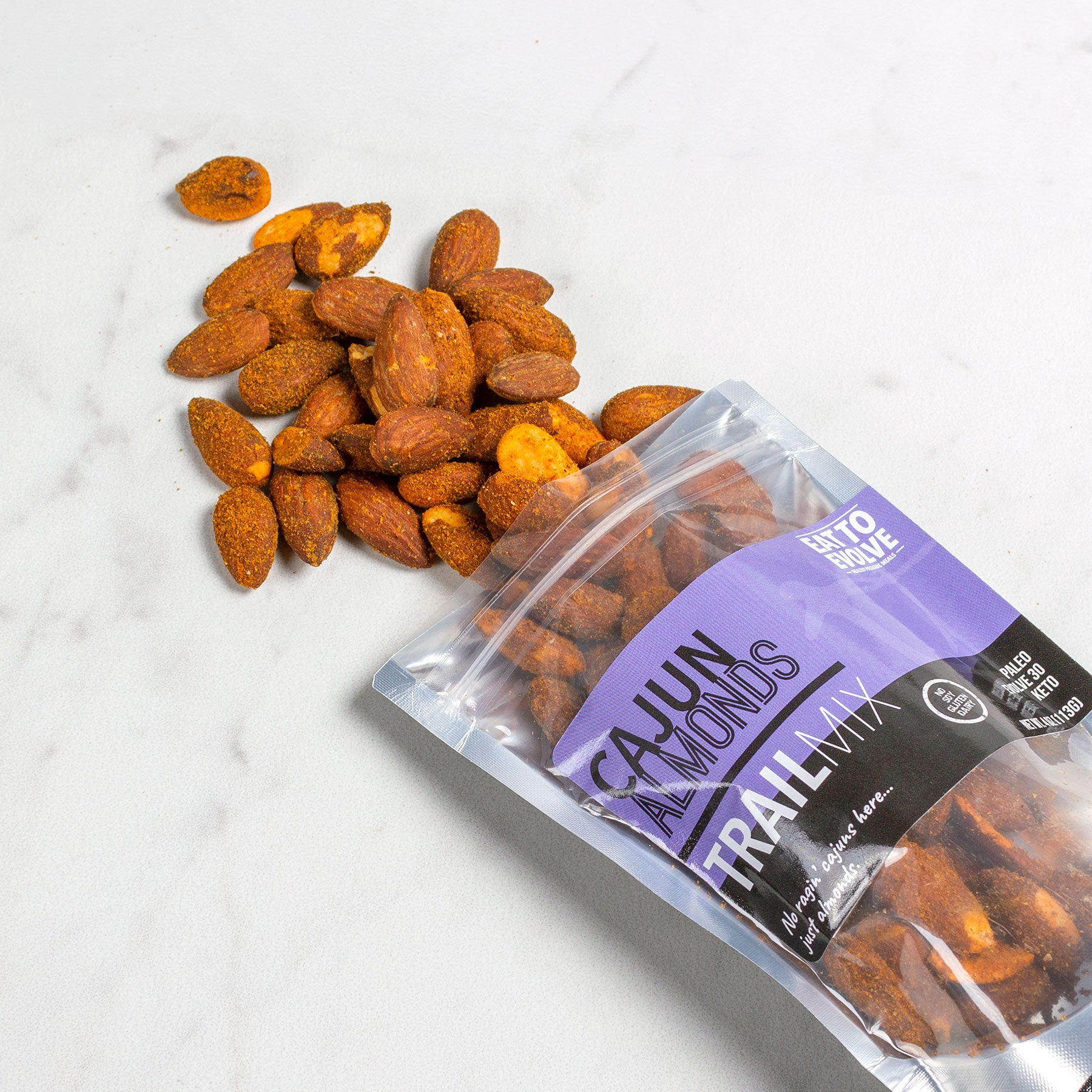 Cajun Almonds Trail Mix