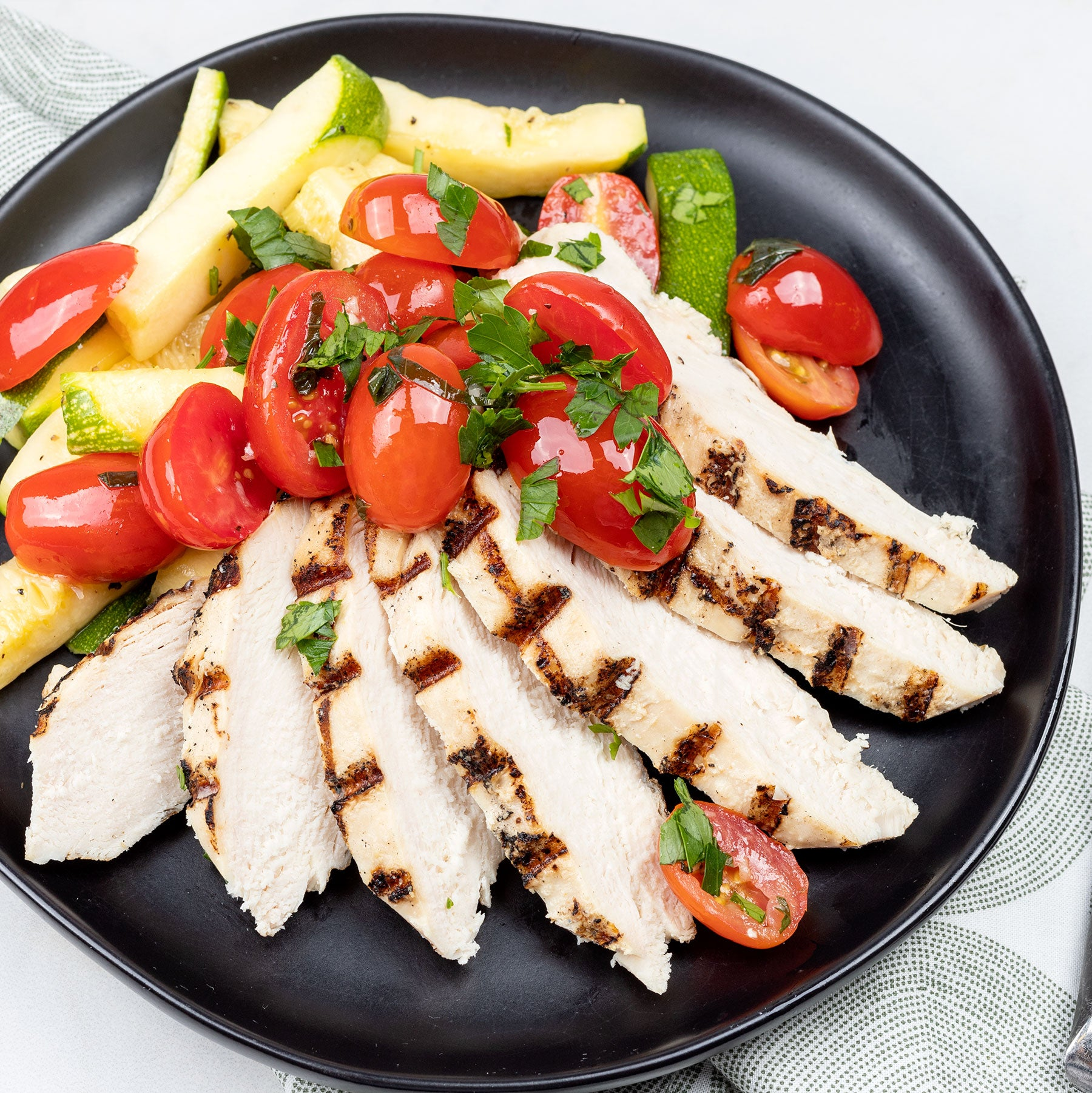 Chargrilled Bruschetta Chicken