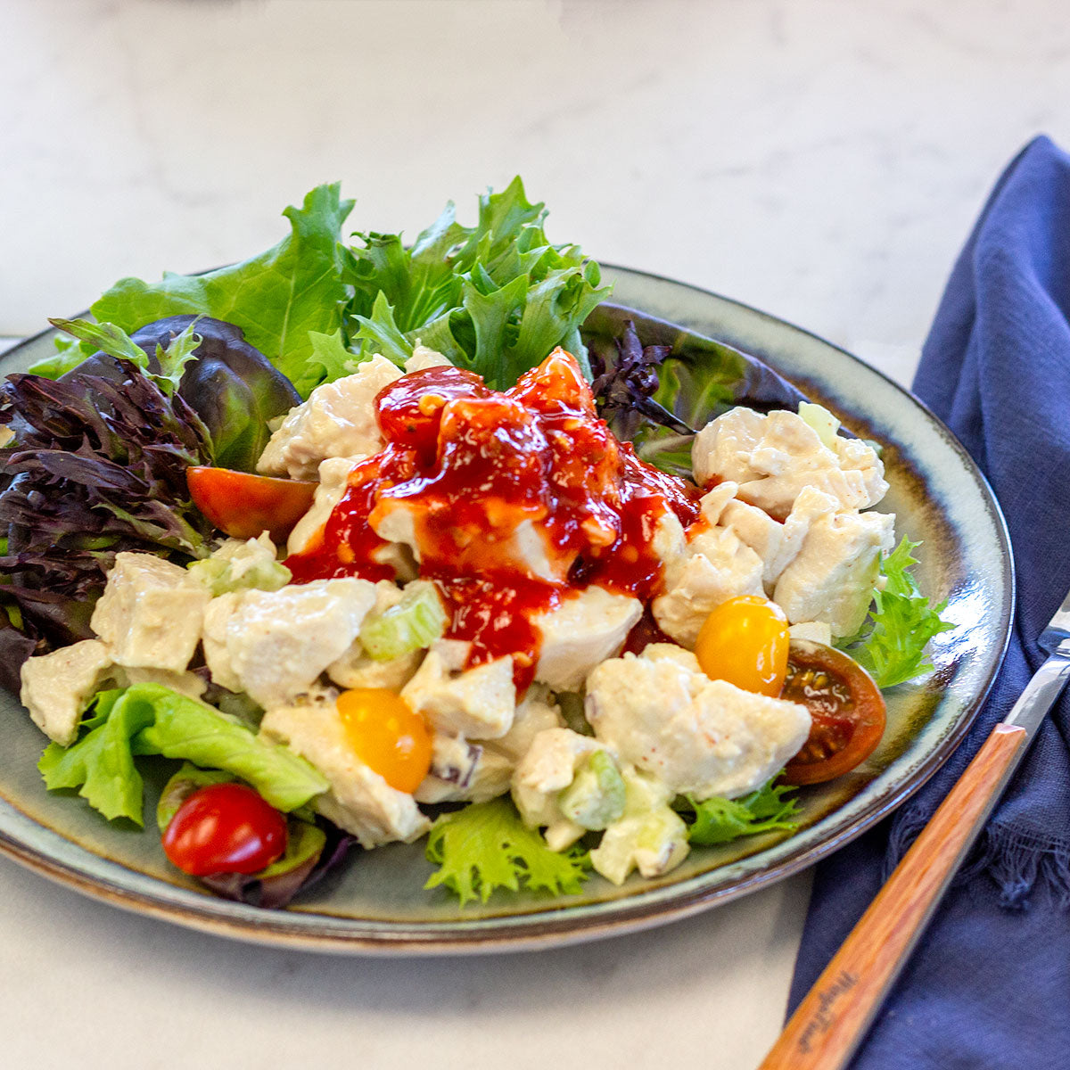 Chicken Salad With Sriracha