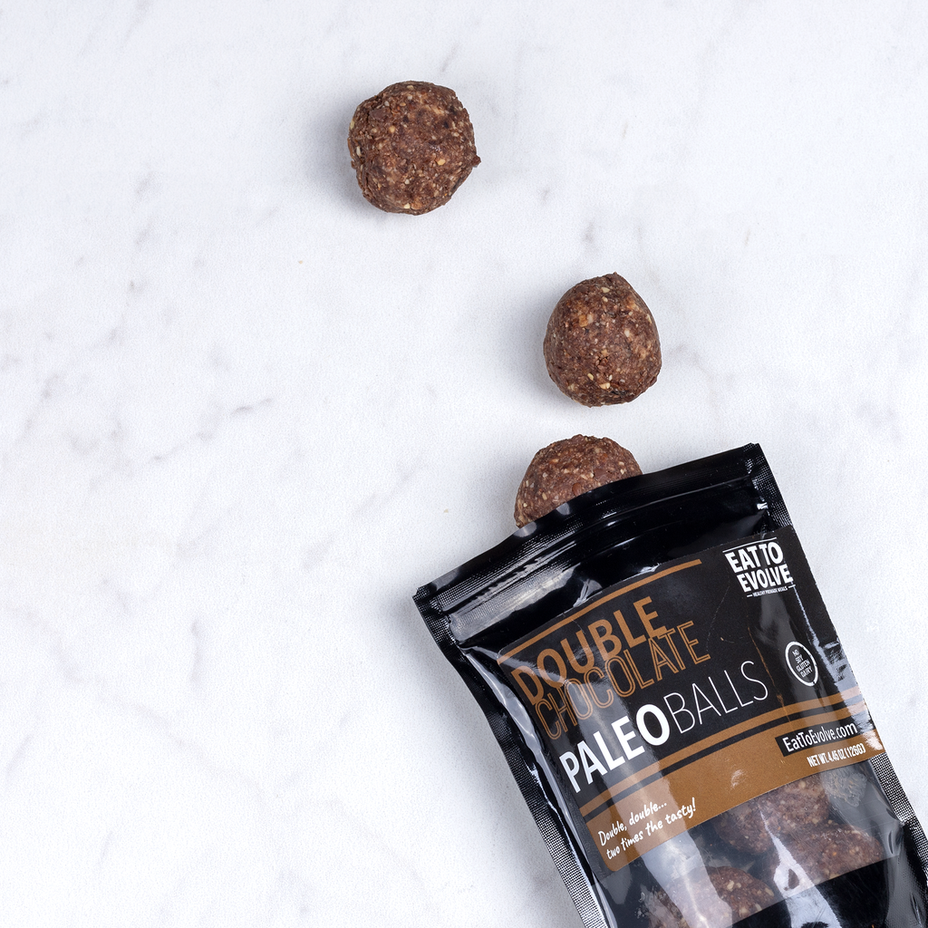 Double Chocolate Paleo Balls, Six Pack