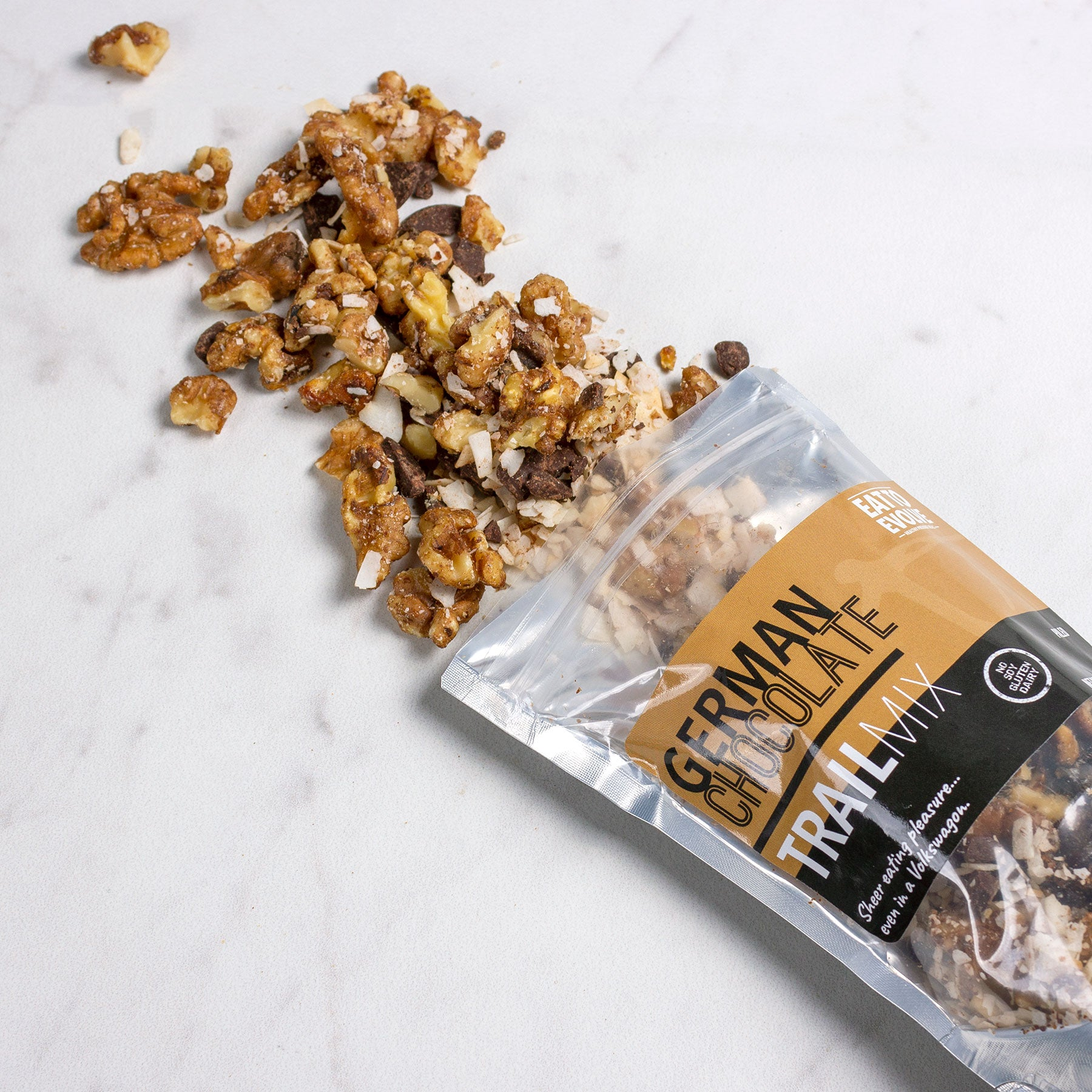 German Chocolate Trail Mix
