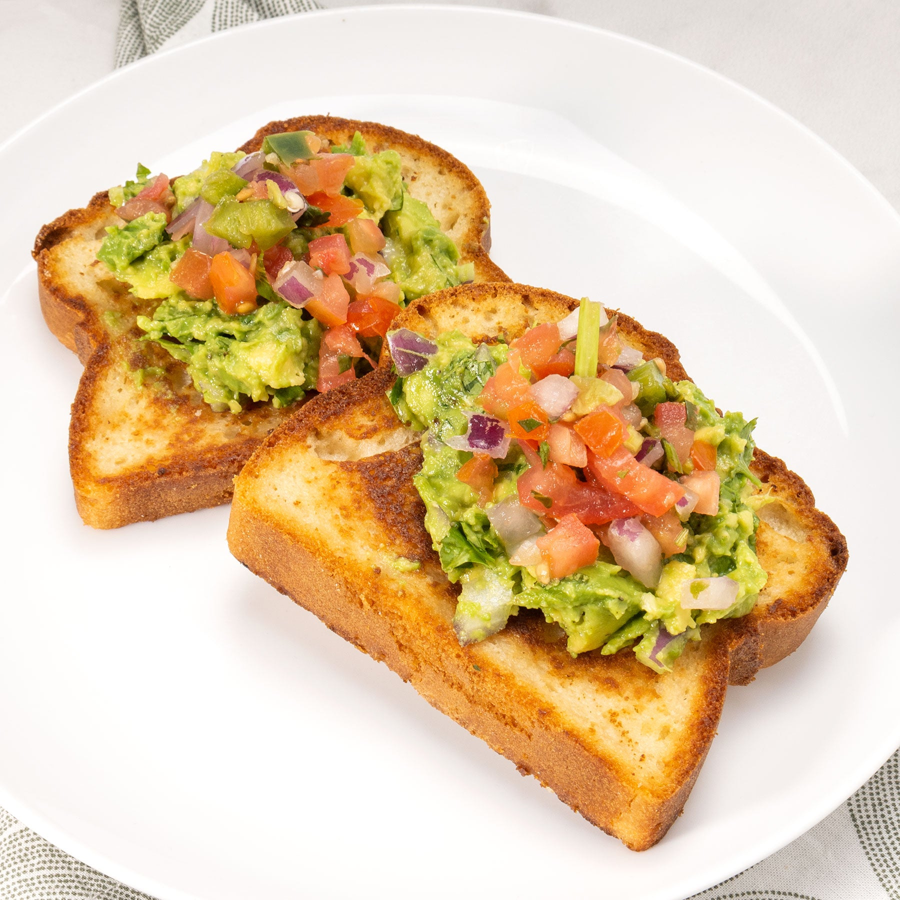 Guac Toast with Pico