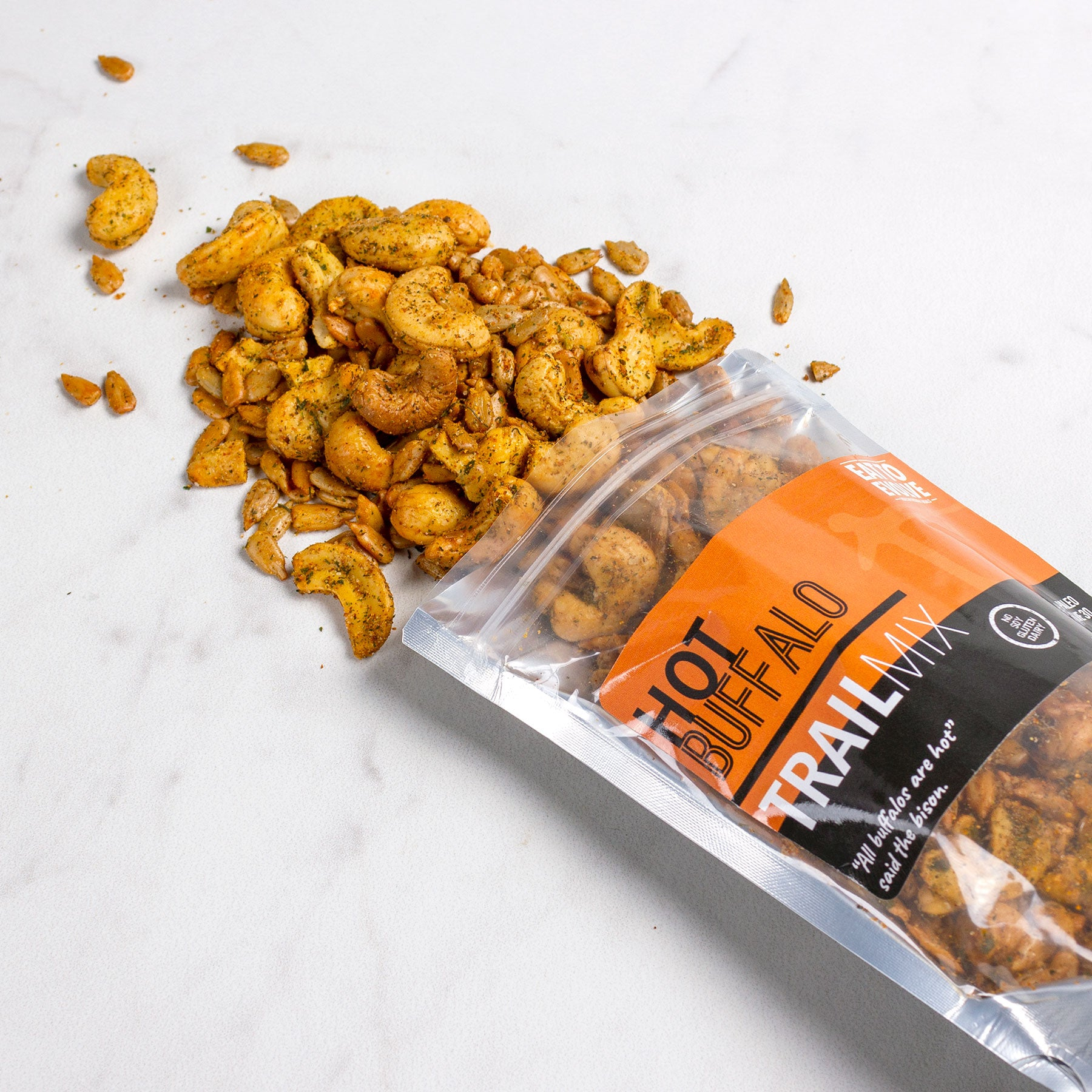 Hot Buffalo Trail Mix