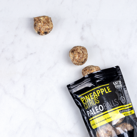 Pineapple Citrus Paleo Balls, Six Pack