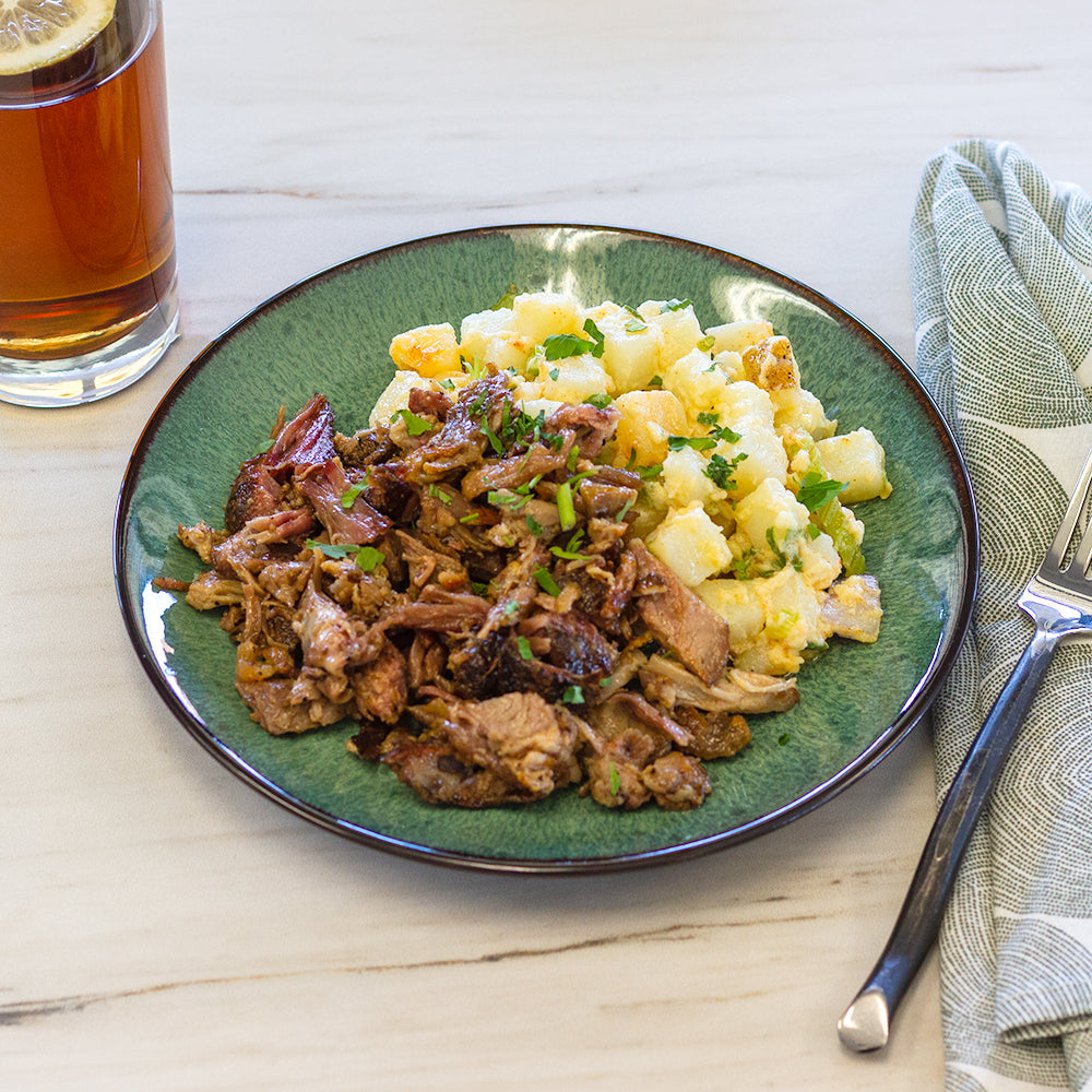 Pulled Pork, Potato Salad
