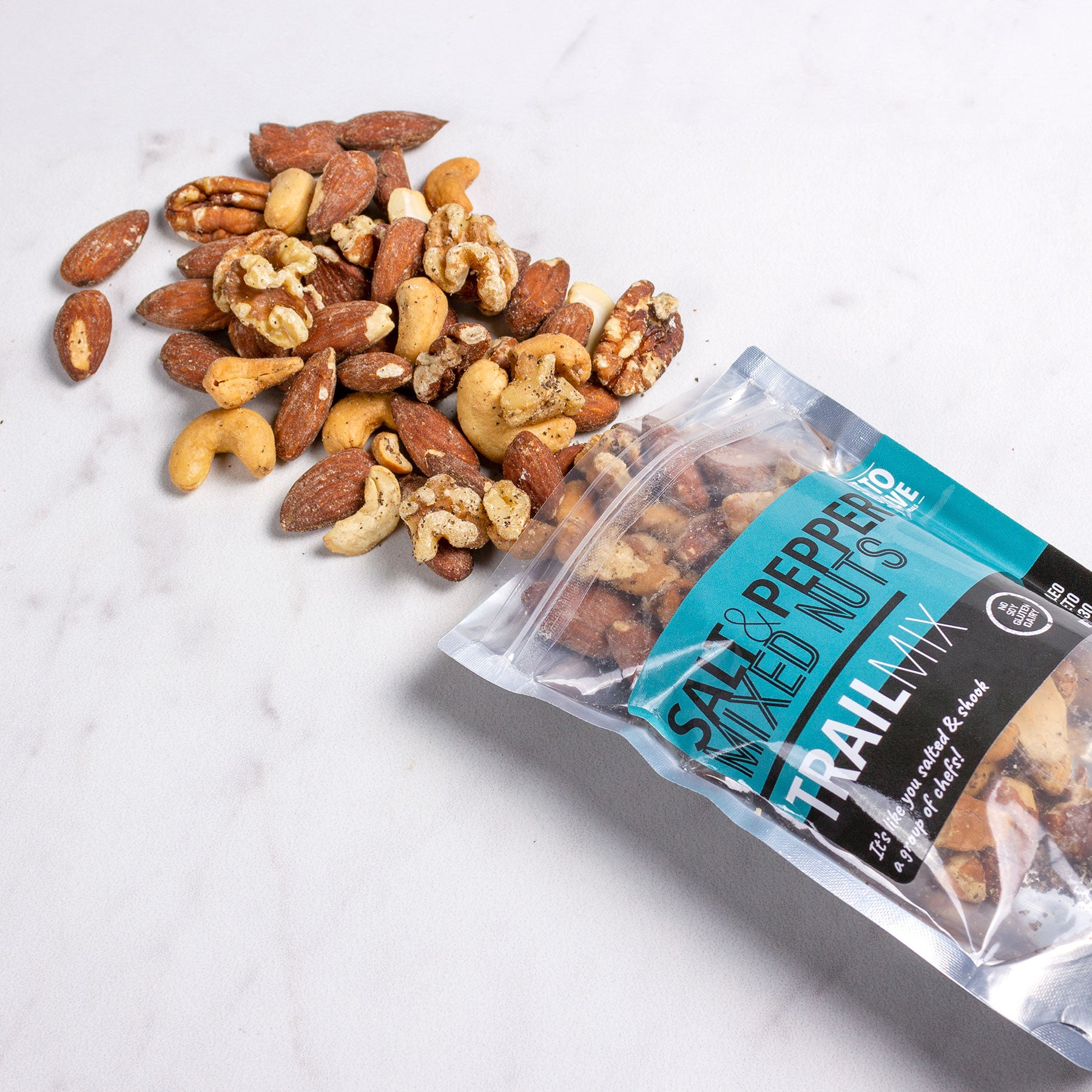 Salt & Pepper Mixed Nuts