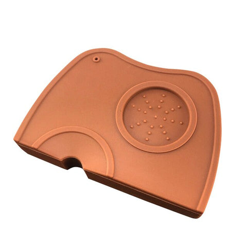 Coffee Anti-skid Mat Espresso Art Pen Tamper Tamping Holder Pad Coffeeware Tampers Safe Coffee Grind Silicone Mat MDP66