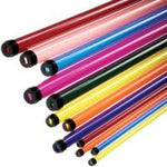 Fluorescent Tube Filters Stock Colors