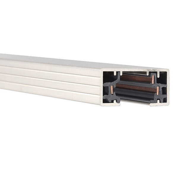 WAC Lighting 120V H Track Section - 8 Feet - White