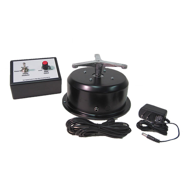 "Variable Speed Turntable - AC Motor (Reversible) with 8"" Top - 50 lb Capacity"
