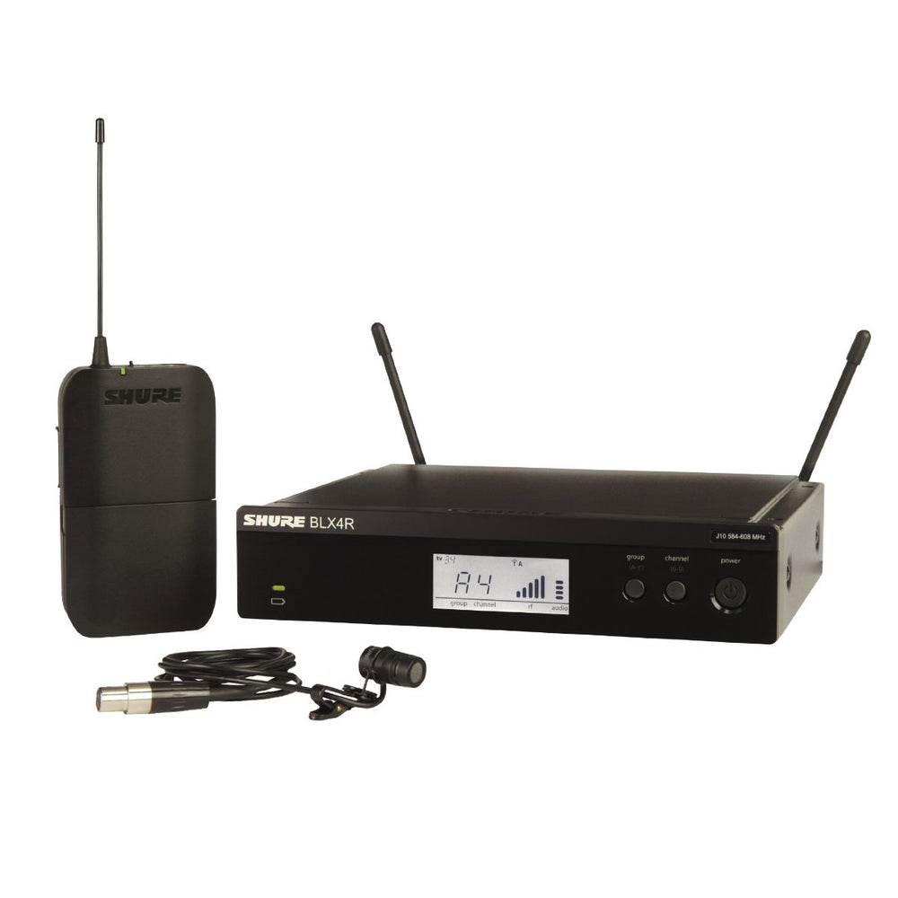 Shure BLX14R/W85 Lavalier Microphone System