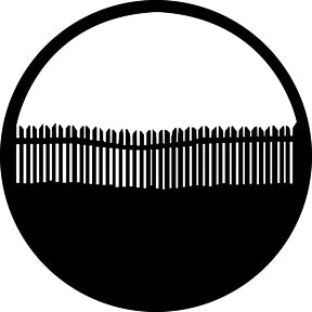 GAM Picket Fence Gobo Pattern