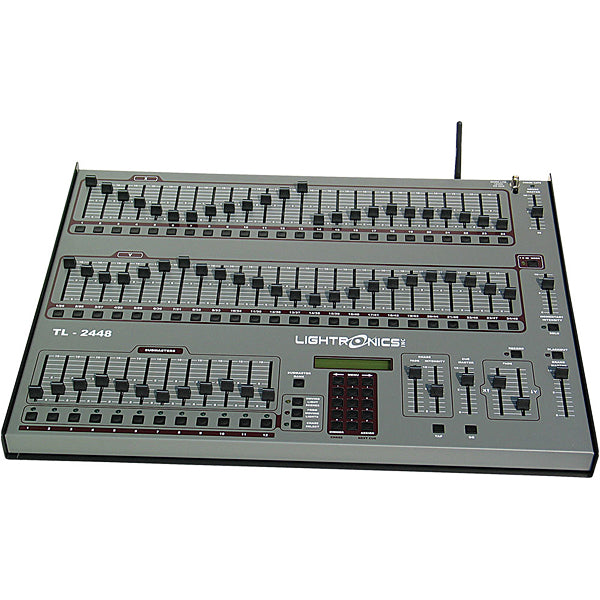 Lightronics TL2448 (48 Channels x 1200 Scenes) Control Console