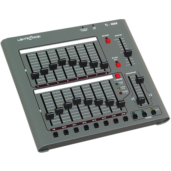 Lightronics TL4008 (16 Channels x 8 Scenes) Control Console