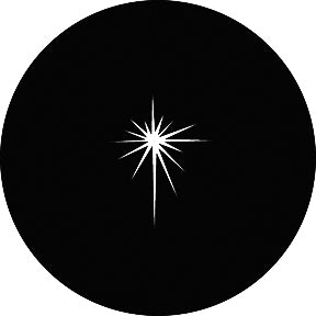 GAM Evening Star Gobo Pattern