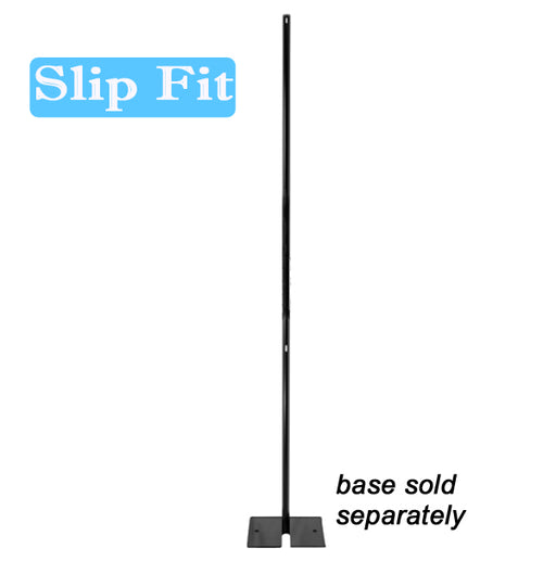 "1½"" Slip Fit Upright - 8 ft. (Black Powder Coated)"