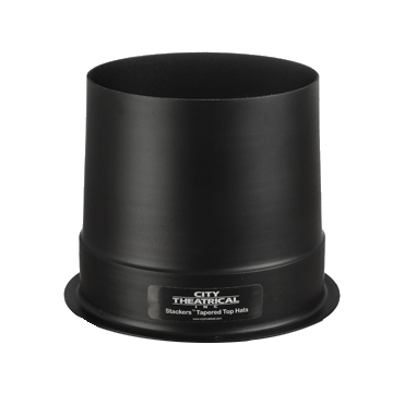 City Theatrical Stackers Tapered Full Top Hat - 6 1/4""