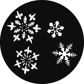 GAM Small Snowflakes Gobo Pattern