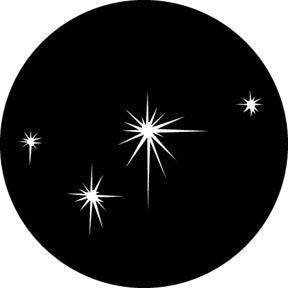 GAM Small Evening Stars Gobo Pattern