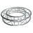 Global Truss SQ-C1.5-180 5 Foot Circle Truss with Square Truss Sections