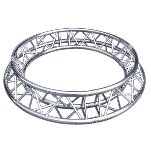 Global Truss TR-C1.5-180 5 Foot Circle Truss with Triangular Truss Sections