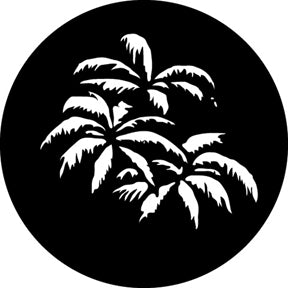 GAM Palm Leaves Gobo Pattern