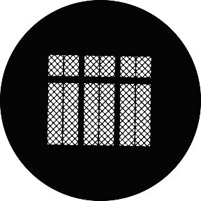 GAM Elizabethan Windows Gobo Pattern