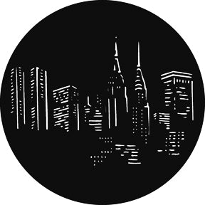 GAM New York Night Gobo Pattern