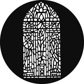 GAM Stained Glass Window Gobo Pattern