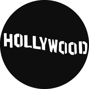 GAM Hollywood Sign Gobo Pattern