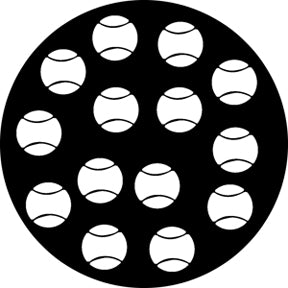Rosco Tennis Balls Gobo Pattern