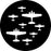 Rosco World War Planes 2 Gobo Pattern