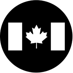 Rosco Canadian Flag Gobo Pattern