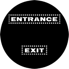 Rosco Exit/Entrance Gobo Pattern