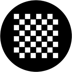 Rosco Chessboard Gobo Pattern