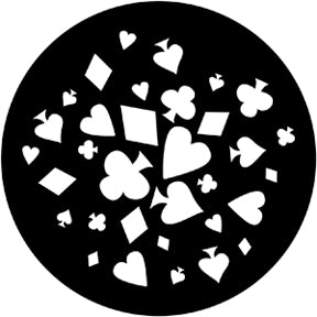 Rosco House of Cards Gobo Pattern