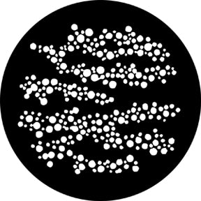 Rosco Foam Dots 1 Gobo Pattern