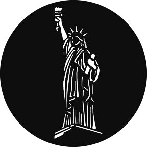 GAM Statue of Liberty Gobo Pattern