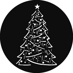 GAM Christmas Tree Composite Gobo Pattern