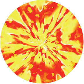 Rosco Inferno Abyss Color Glass Gobo