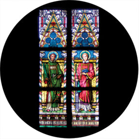 Rosco Liturgical Stained Glass Color Glass Gobo