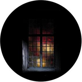 Rosco Firelight Window Color Glass Gobo