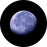 Rosco Rising Moon Color Glass Gobo