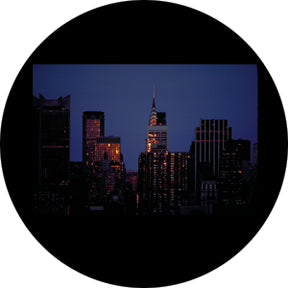 Rosco NYC Skyline Color Glass Gobo