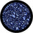 Rosco Blue Mars Color Glass Gobo