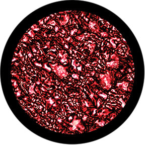 Rosco Red Mars Color Glass Gobo