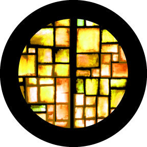 Rosco Amber Squares Color Glass Gobo